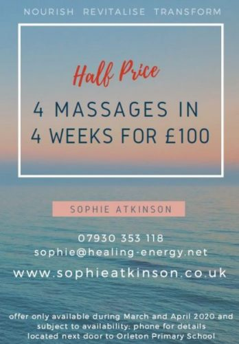 Half price offer details